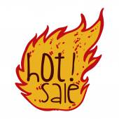 Hot sale — Stock Vector
