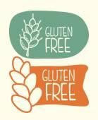Gluten free — Stock Vector