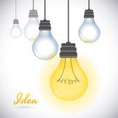 Idea icon  — Stock Vector