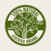 Doğal ürün — Stok Vektör