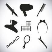 Hairdressing  — Vetor de Stock