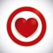 Amor cartel — Vector de stock