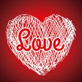 Love poster — Stock Vector