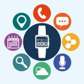 Smart watch — Stock Vector