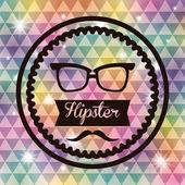 Hippi tarzı — Stok Vektör