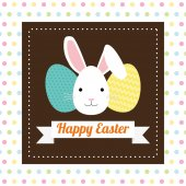 Happy easter  — Vector de stock