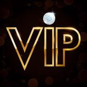 Vip member — Stock Vector