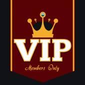 Membre Vip — Vecteur