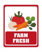 Farm fresh — Stock Vector