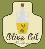 Olive oil  — Vector de stock