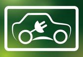 Eco car  — Stock Vector
