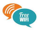 Wi-fi design, vector illustration. — Vettoriale Stock