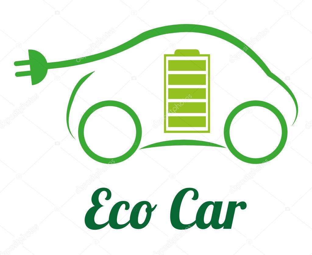 生态汽车 — 图库矢量图像08