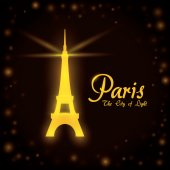 Paris design, vector illustration. — Stockvector