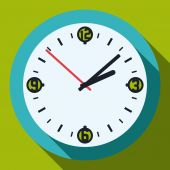 Time design, vector illustration. — Stock Vector