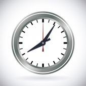 Time design, vector illustration. — Stock Vector
