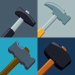 Tools design, vector illustration. — Stock Vector #67996349