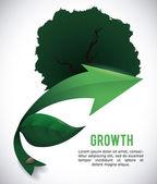 Progettazione di ecologia. — Vettoriale Stock