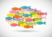 Fish design. — Stock Vector