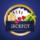 Casino design. — Stock Vector