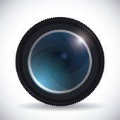 Camera design. — Stock Vector