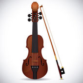 小提琴设计. — 图库矢量图片