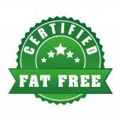 Fat free design. — Stock Vector