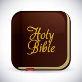 Holy bible design. — Stock Vector