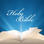 Holy bible design. — Stock Vector