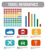 Travel design. — Stock Vector