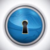 Sicherheit system-design. — Stockvektor