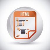 Progettazione web. — Vettoriale Stock