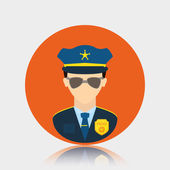 Police design. — Stock Vector