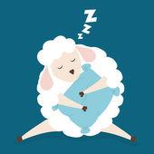 Diseño de sueño. — Vector de stock