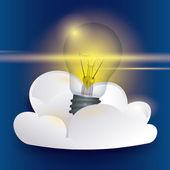 Bulb design. — Stock Vector