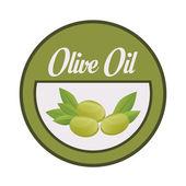 Diseño de aceite de oliva. — Vector de stock