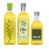 オリーブ油のデザイン. — ストックベクタ