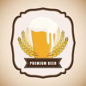 Piwo projekt. — Wektor stockowy