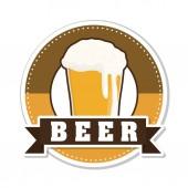 啤酒设计. — 图库矢量图片