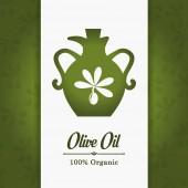 Olive oil design. — Stock Vector