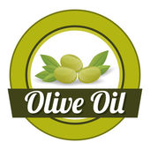 Olive oil design. — Stock Vector