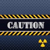 Caution design. — ストックベクタ
