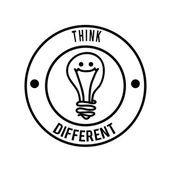 Think different design — Vecteur