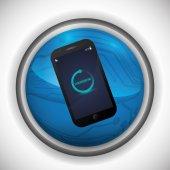 Smartphone design  — Vector de stock