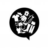 Shopping icon design  — Stock Vector