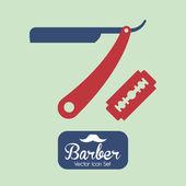 Hair Salon design — Stock Vector