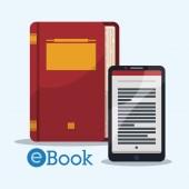 Ebook design. — Stock Vector