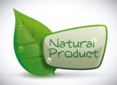 Natural product design. — Stock Vector