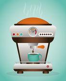 Projektowanie kawy. — Wektor stockowy