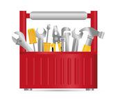 Diseño de las herramientas. — Vector de stock
